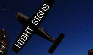Night Flights Advertising
